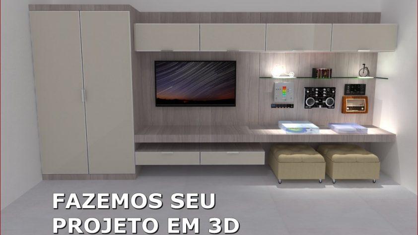 Projetos 3D - Arte Módulos WM